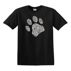 Los Angeles Pop Art Men's Word Art T-Shirt - Dog Paw at Kmart.com