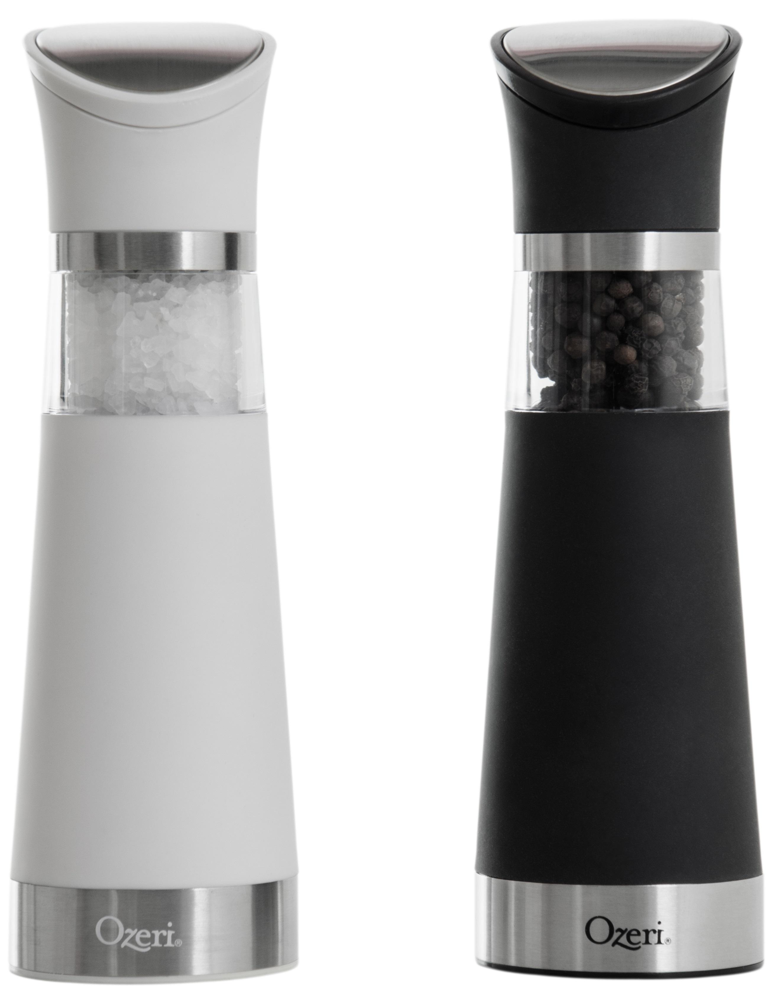 Ozeri Graviti Pro Electric Salt and Pepper Grinder Set - BPA-Free