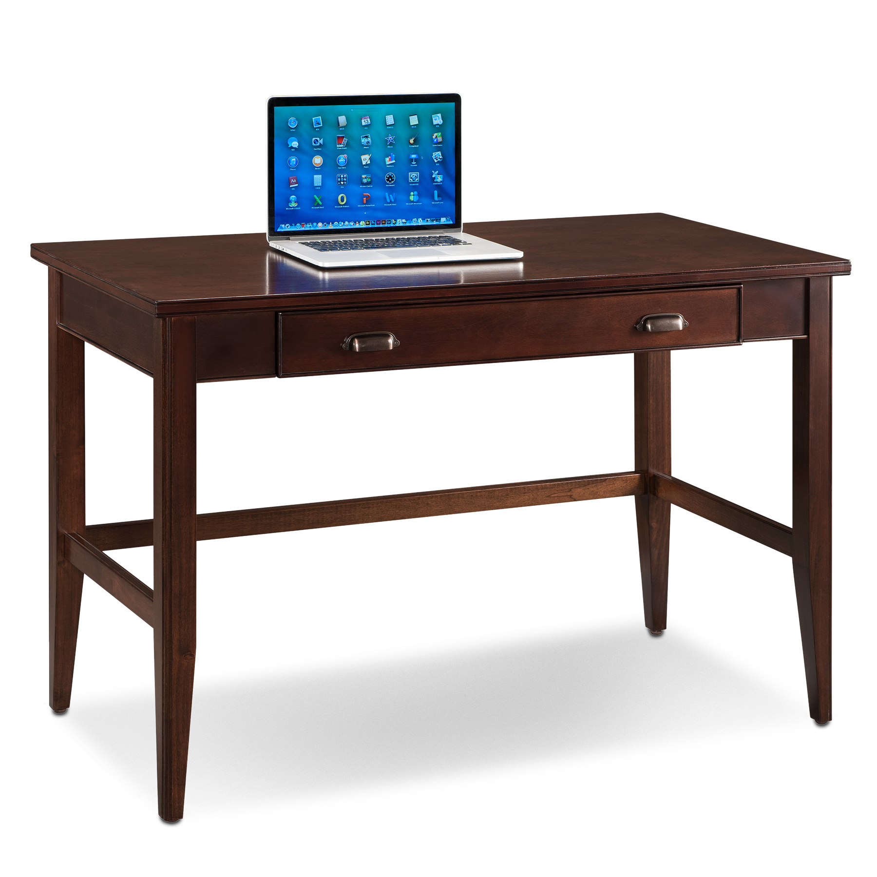 Image of Leick 10511 Laurent Writing Desk, Brown