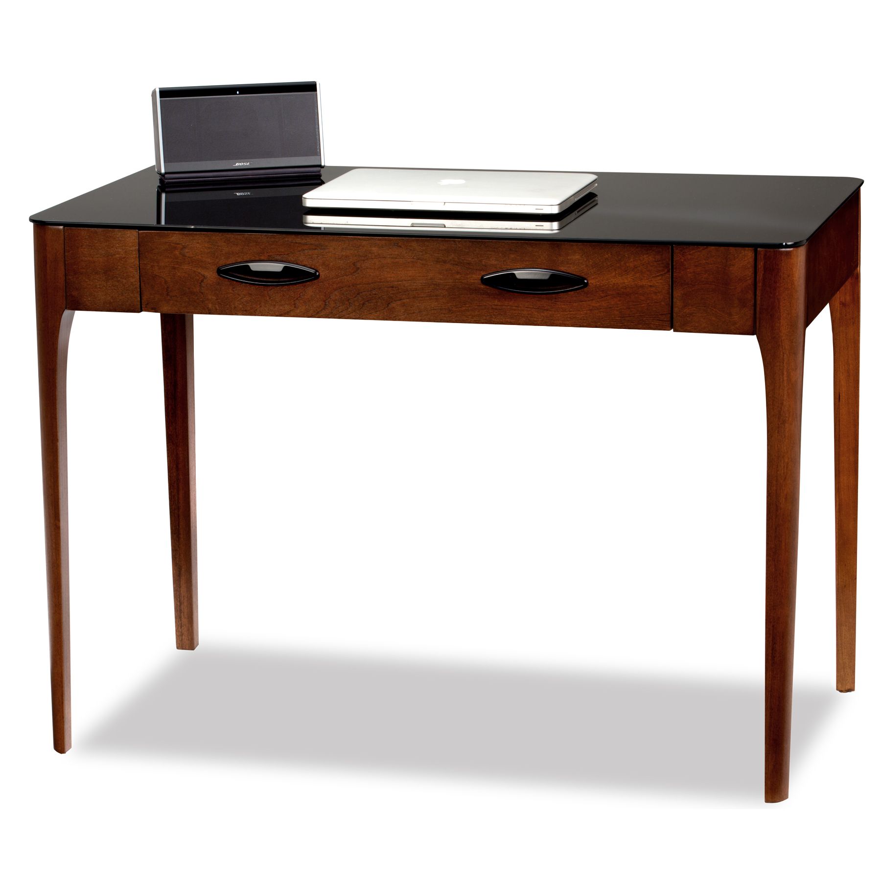 Image of Leick 11111 Obsidian Writing Desk, Brown