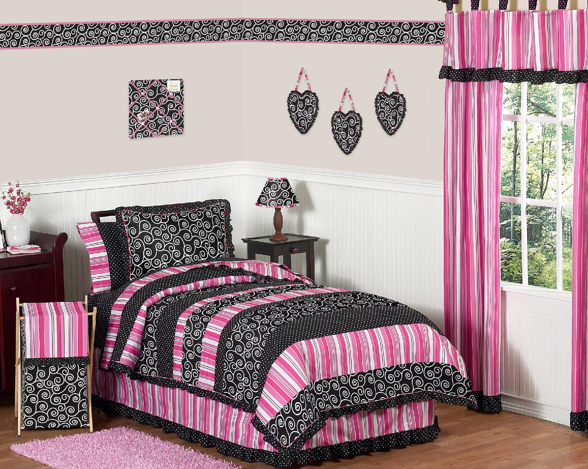 Sweet Jojo Designs Madison Collection 4pc Twin Bedding Set