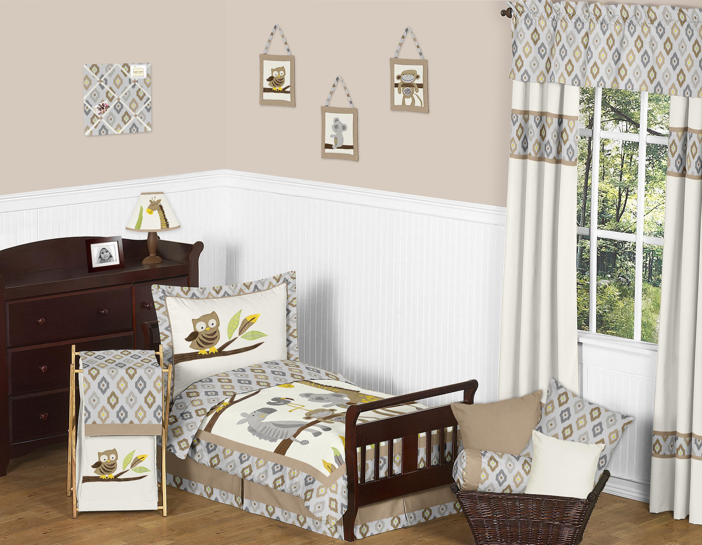 Sweet Jojo Designs Safari Outback Collection 5pc Toddler Bedding Set