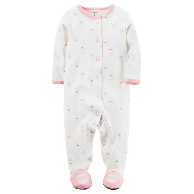 af7714740f41 Carter s Infant Girls  Snap-Up Sleep   Play – Ballerina