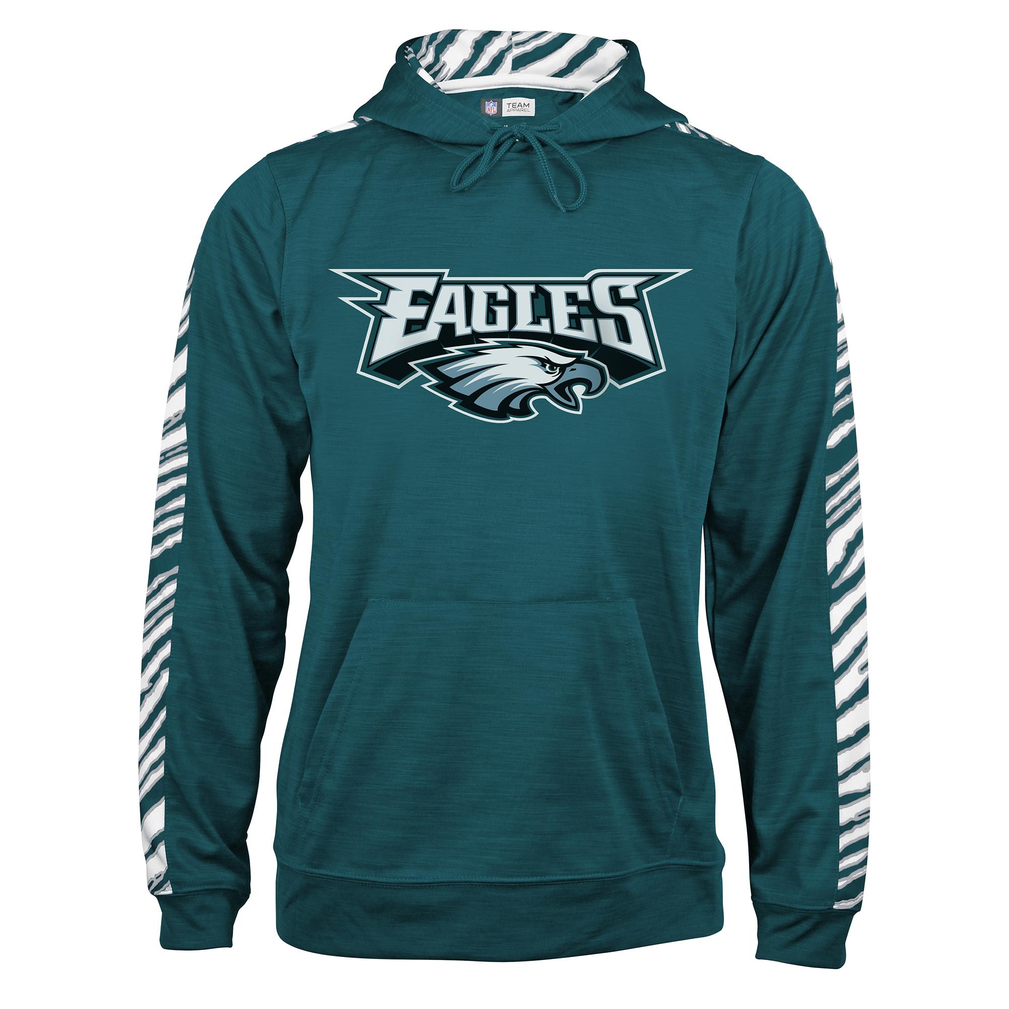 NFL Men's Graphic Slub Hoodie - Philadelphia Eagles PartNumber: 046VA99413812P MfgPartNumber: SNFL24SLZ510635