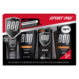 Bod Man Sport Pack Set