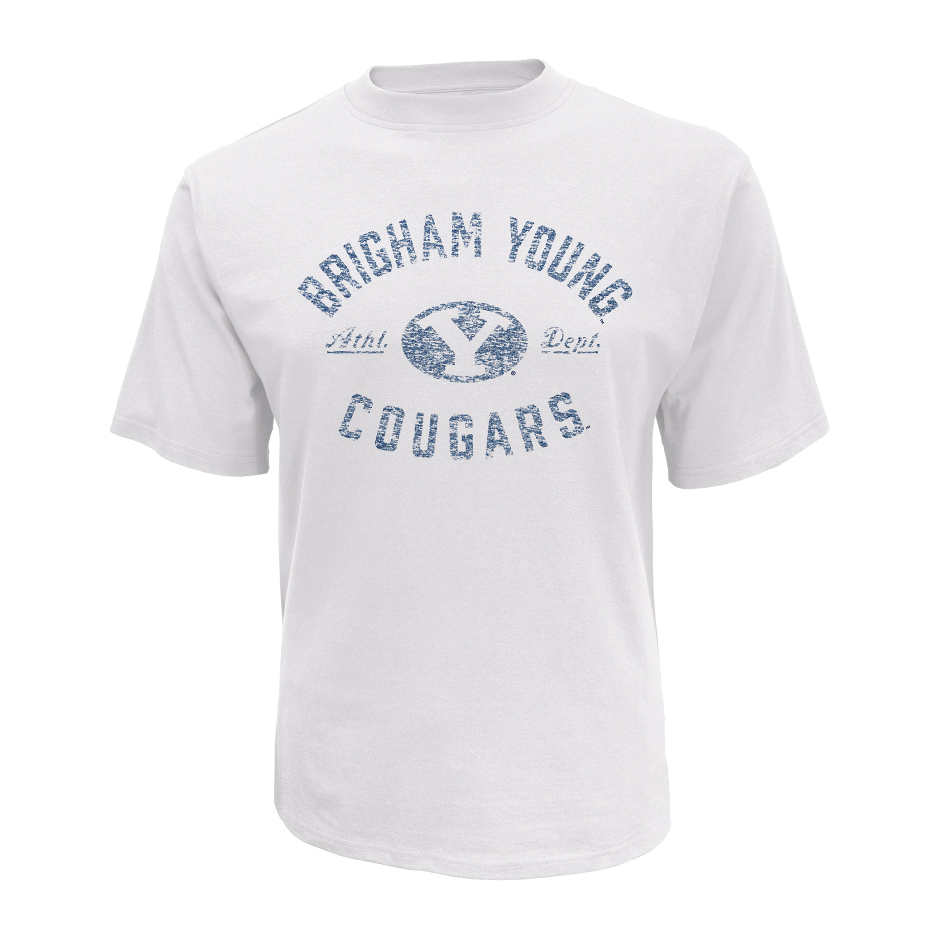 petite NCAA Men's Big & Tall Short-Sleeve T-Shirt - BYU Cougars, Size: 4XL