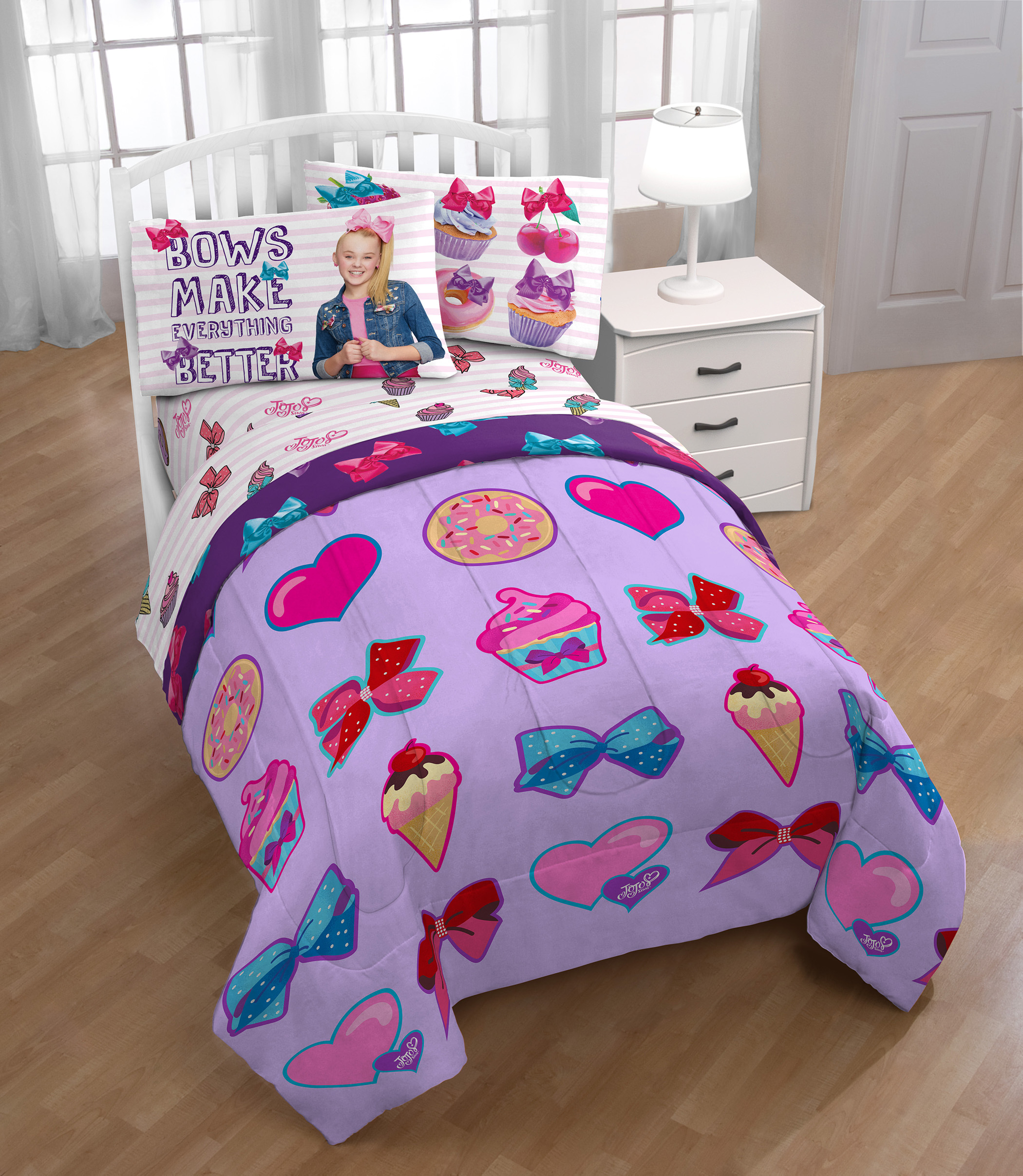 Image of Nickelodeon JoJo Siwa Comforter, Size: Twin/Full