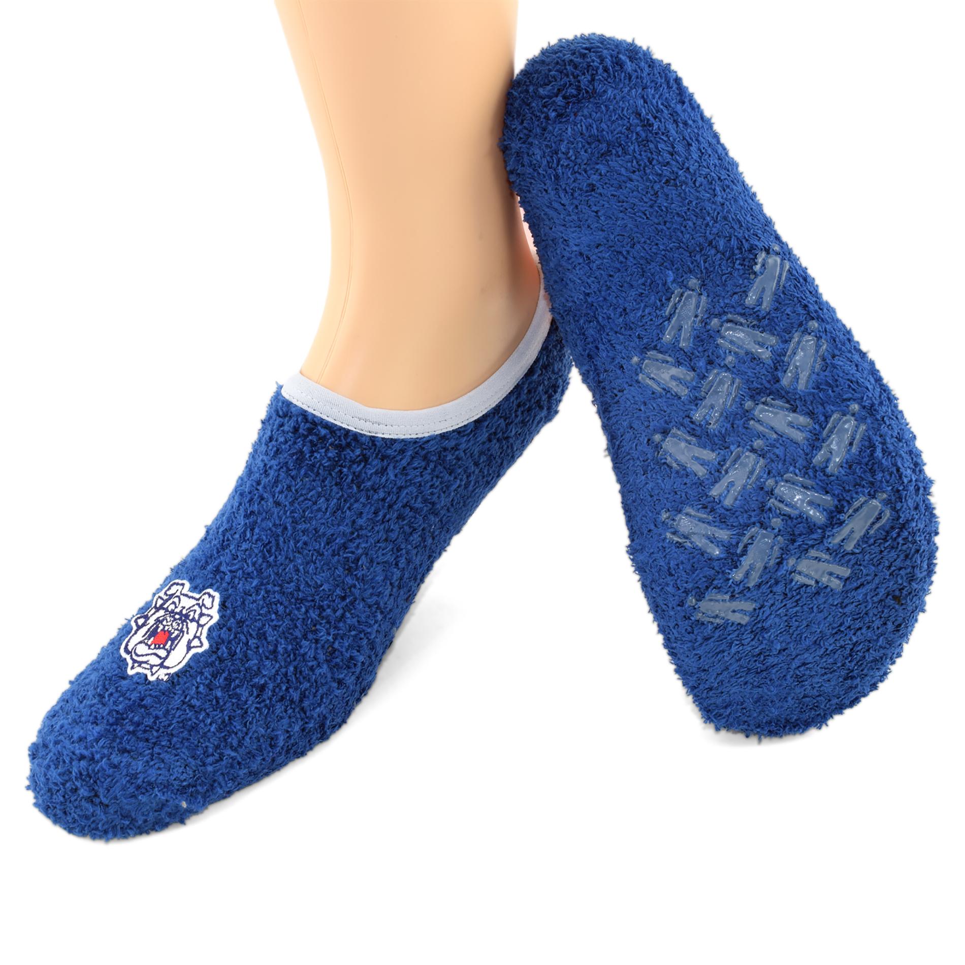 NCAA Women's Fresno State Bulldogs Low-Cut Socks, Size: One size