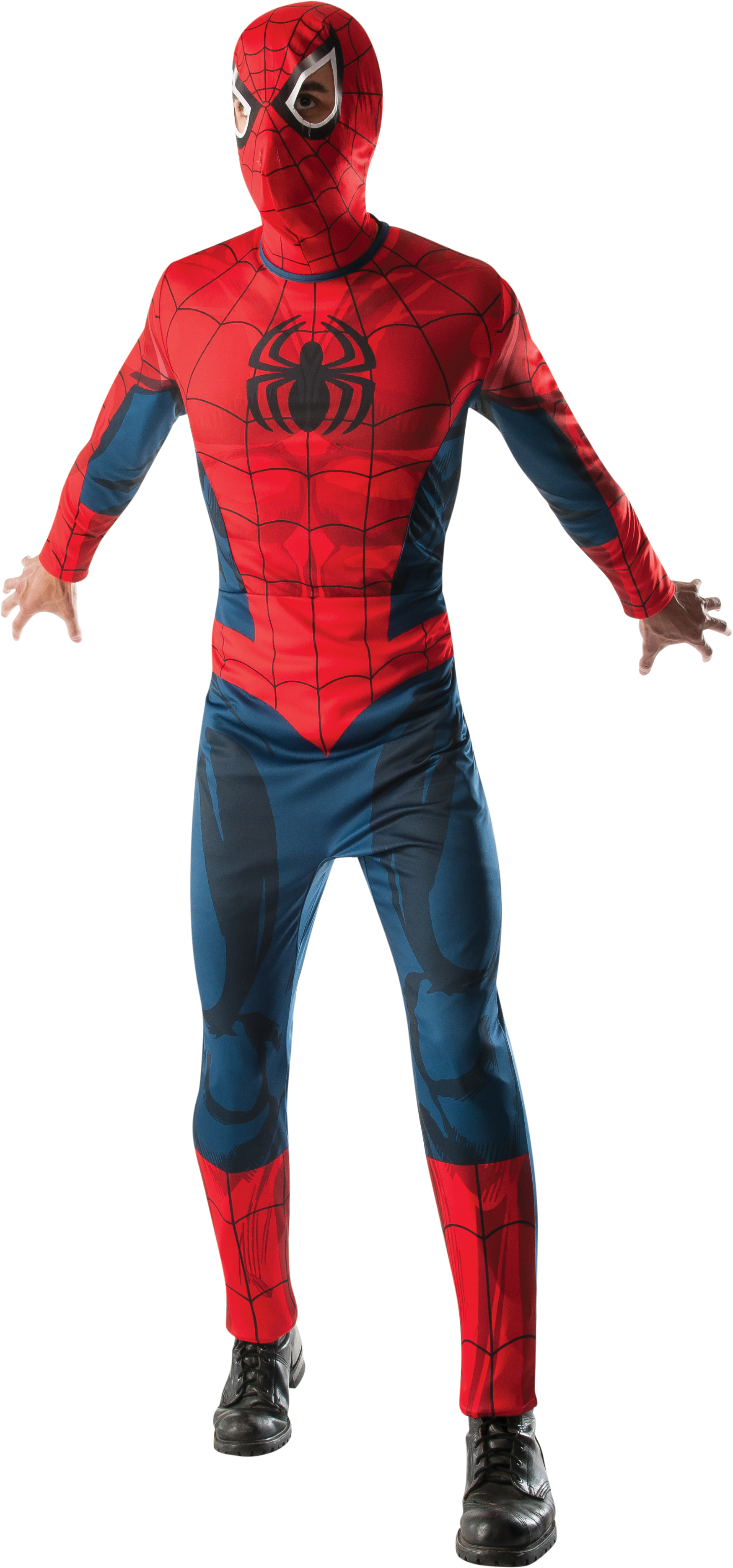 Adult Spiderman Mens Halloween Costume PartNumber: 009W008934988001P KsnValue: 8934988 MfgPartNumber: 820005