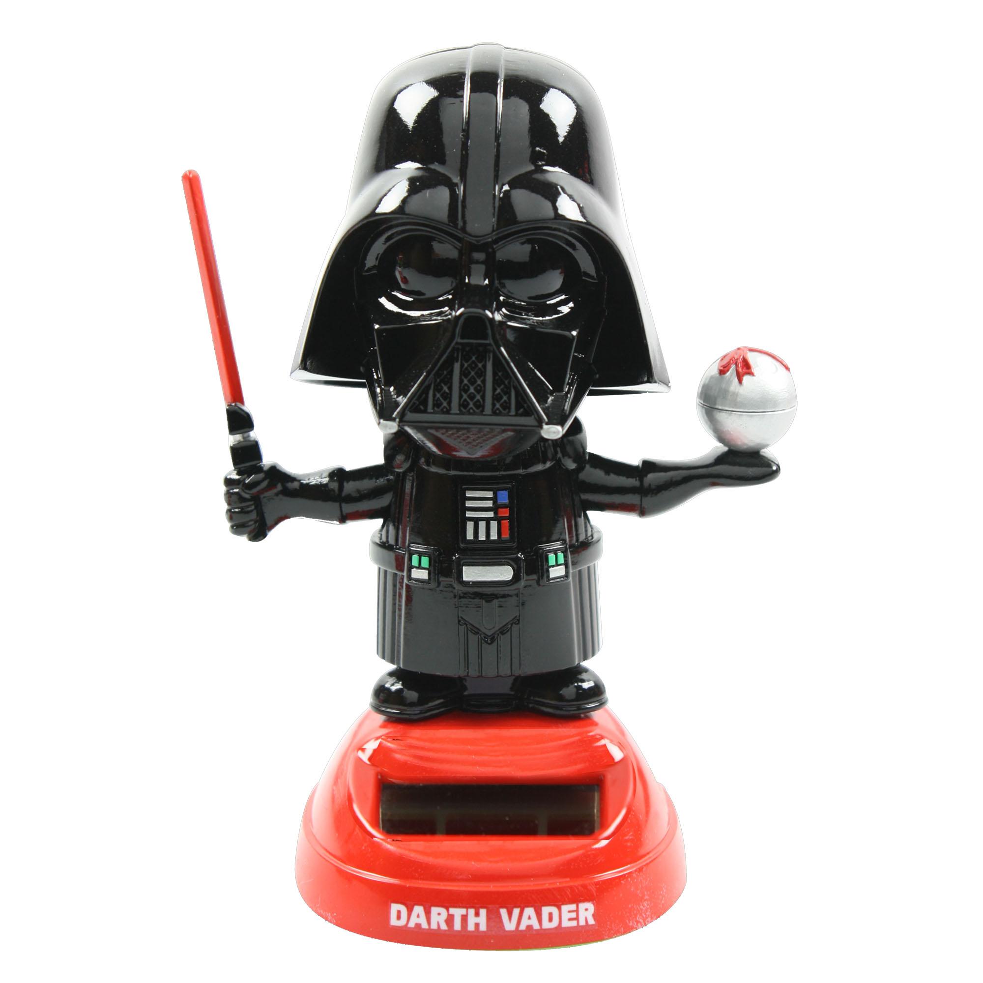Disney 433 Darth Vader Solar Power Bobble Head