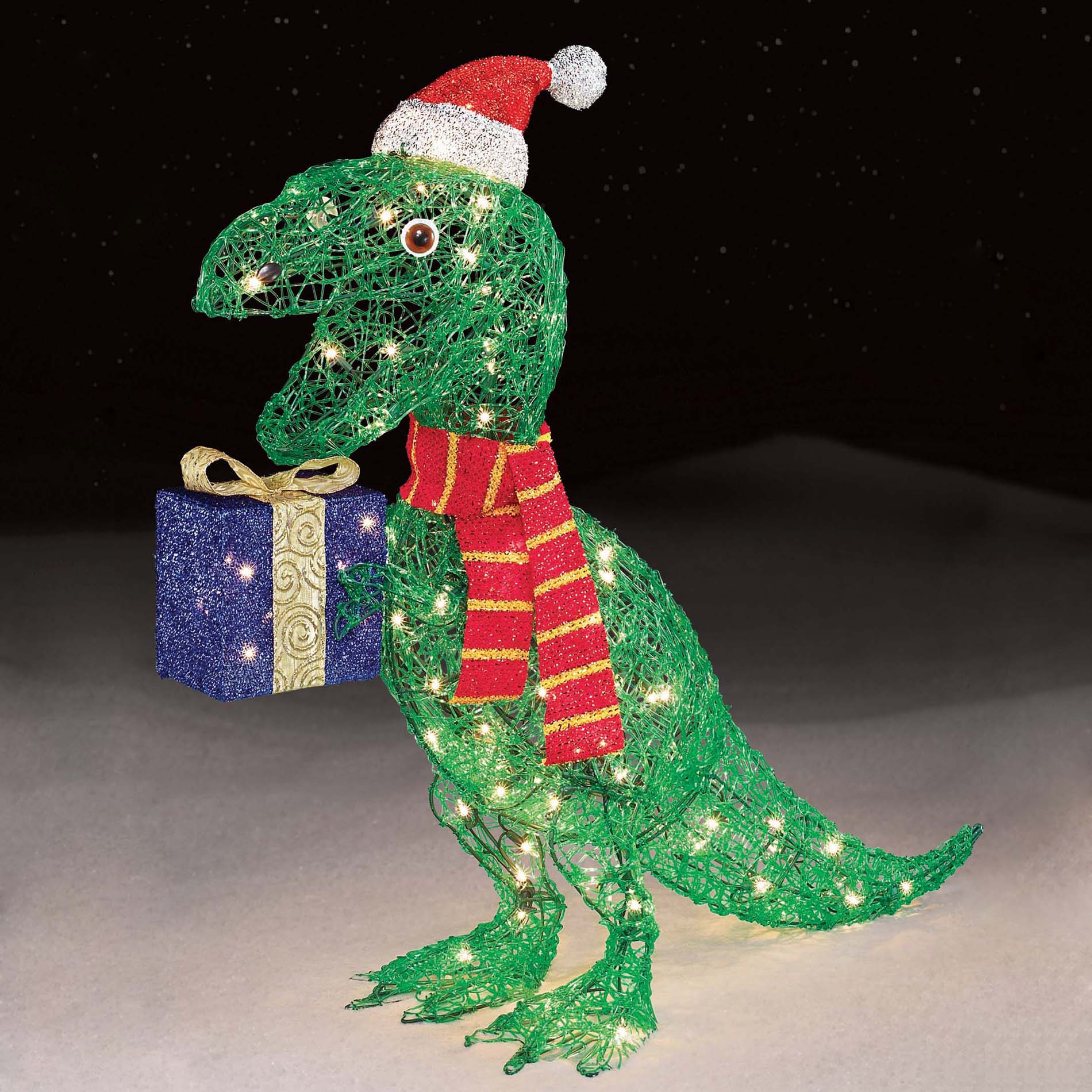 upc 029944538820 product image for trim a home 32 - Dinosaur Christmas Decorations