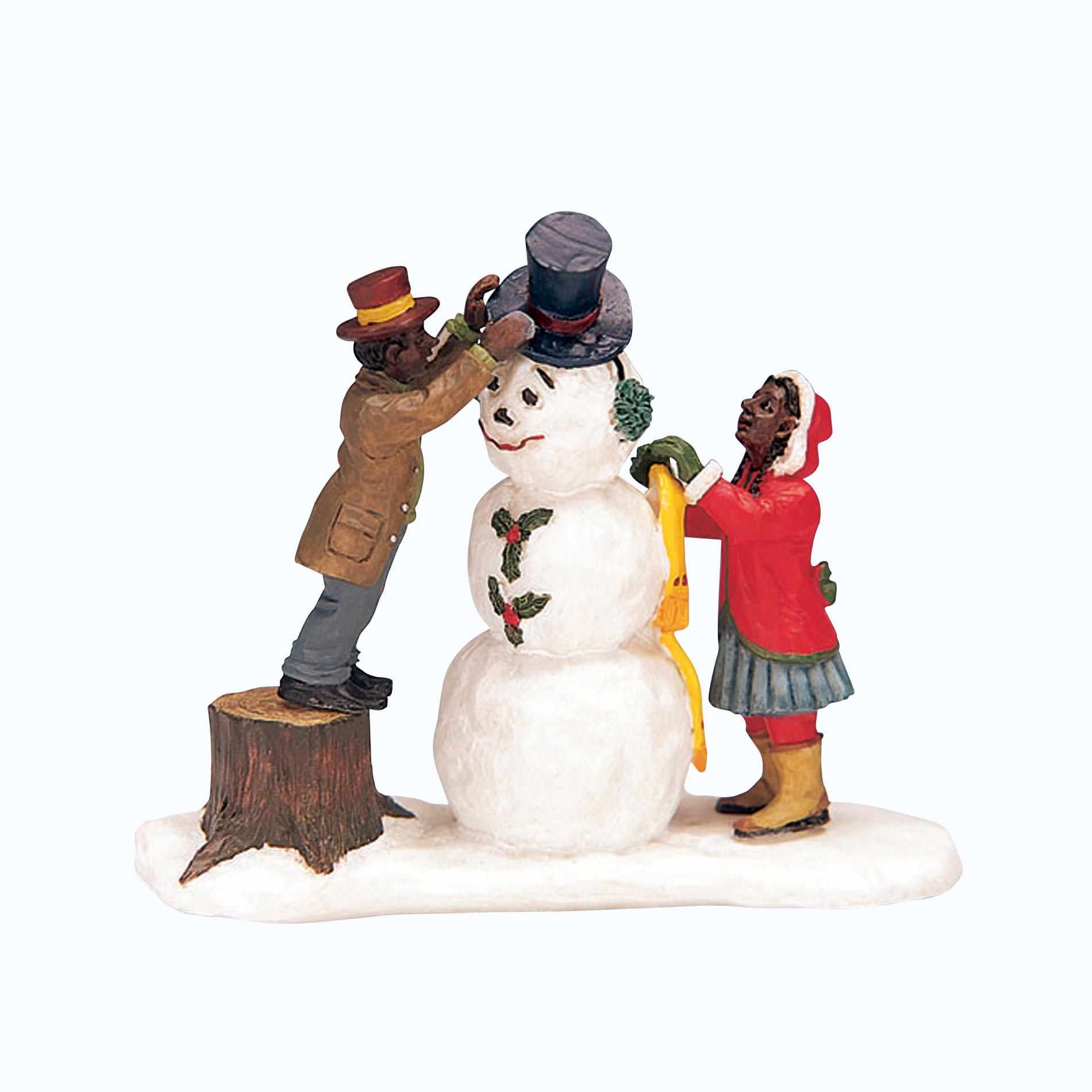 Snow Village Halloween