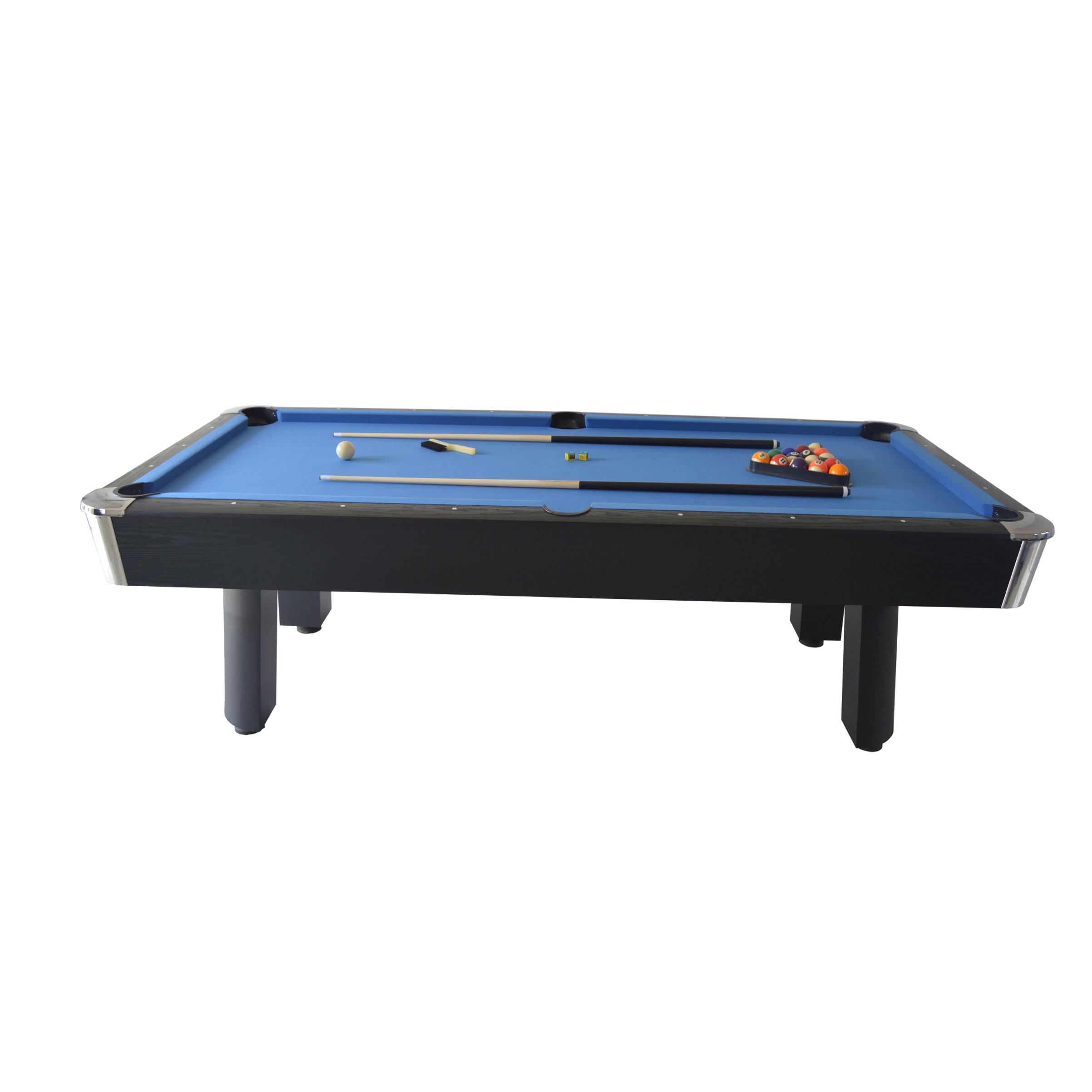 Sportcraft 8 FT Hawthorn Blue Billiard Table with Table Tennis Top