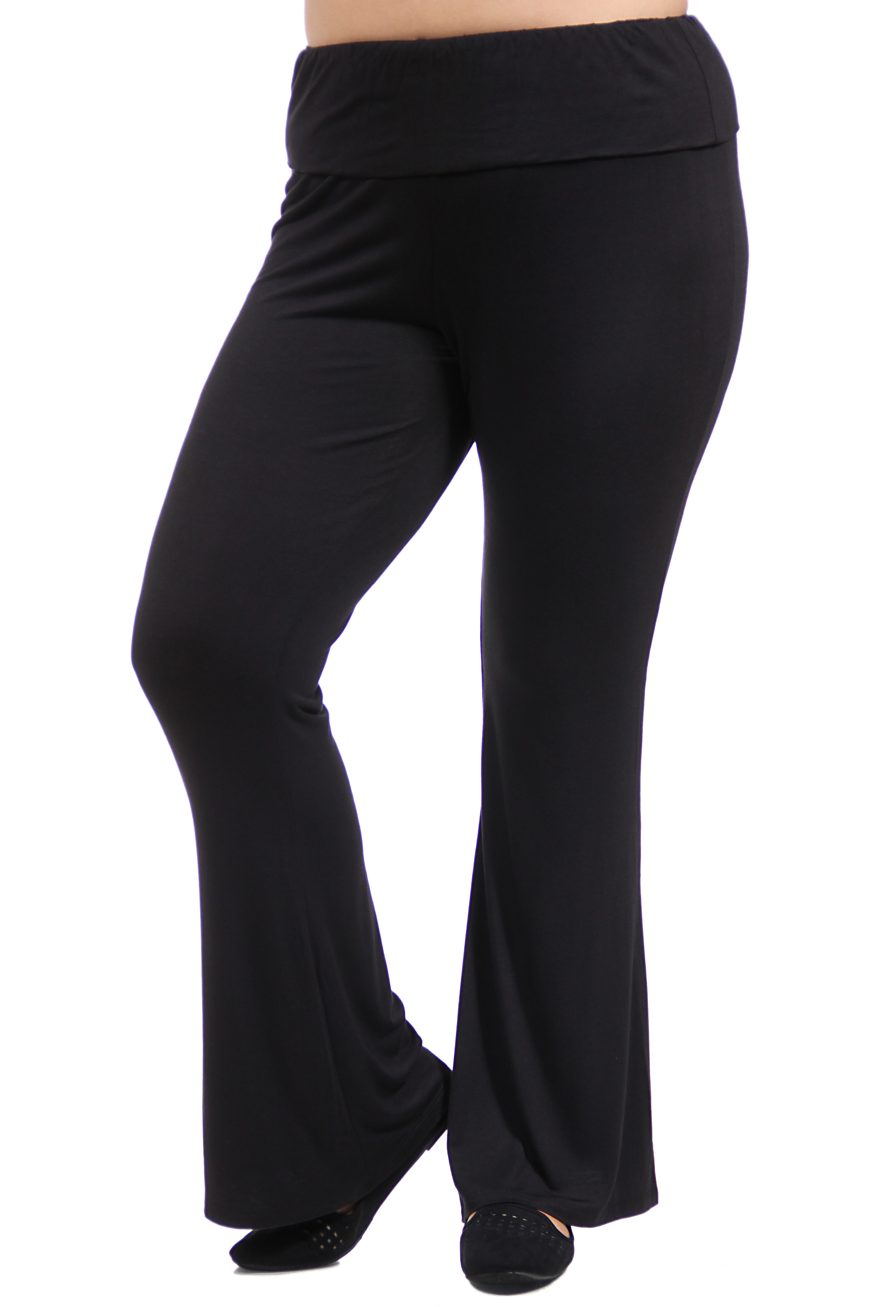 Twenty Four Seven Apparel Women's Plus Size Straight Leg Pant
