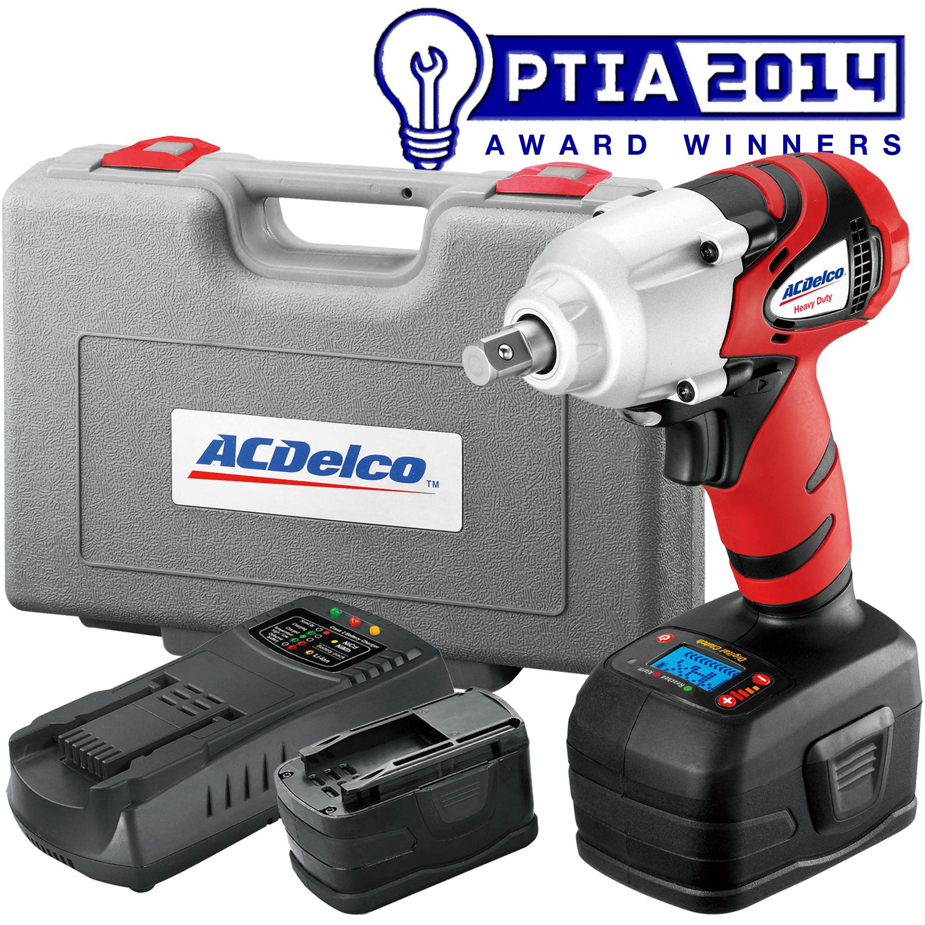 """ACDelco ARI2064B Li-ion 18V 1/2"""" Impact Wrench w/ Digital Clutch KIT"""