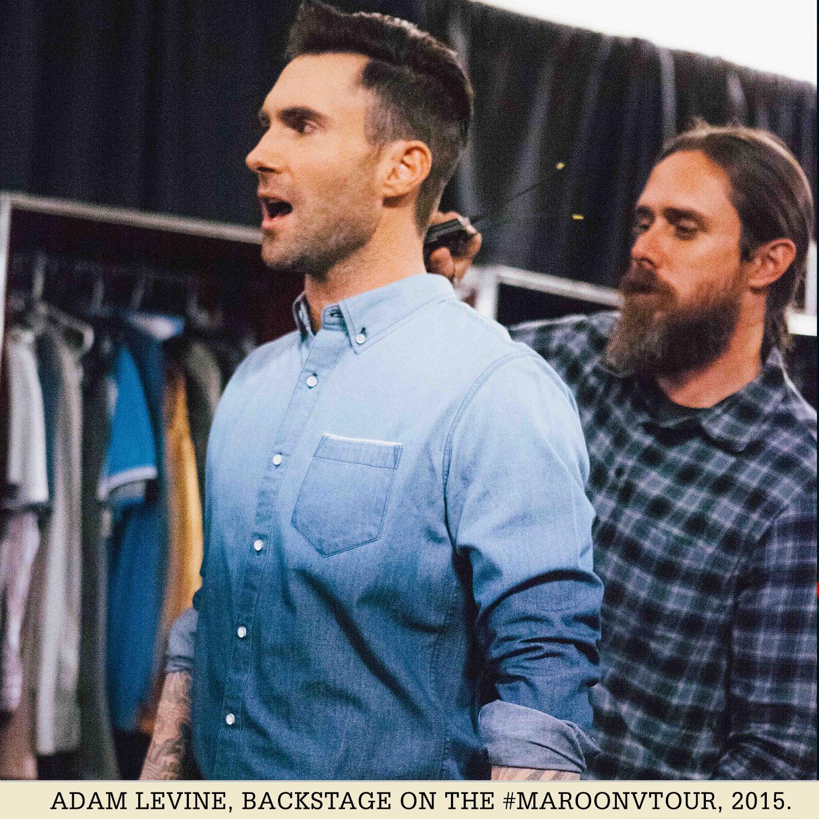 eff1d63cba9 Adam Levine Adam Levine Men s Dip Dye Selvage Denim Shirt