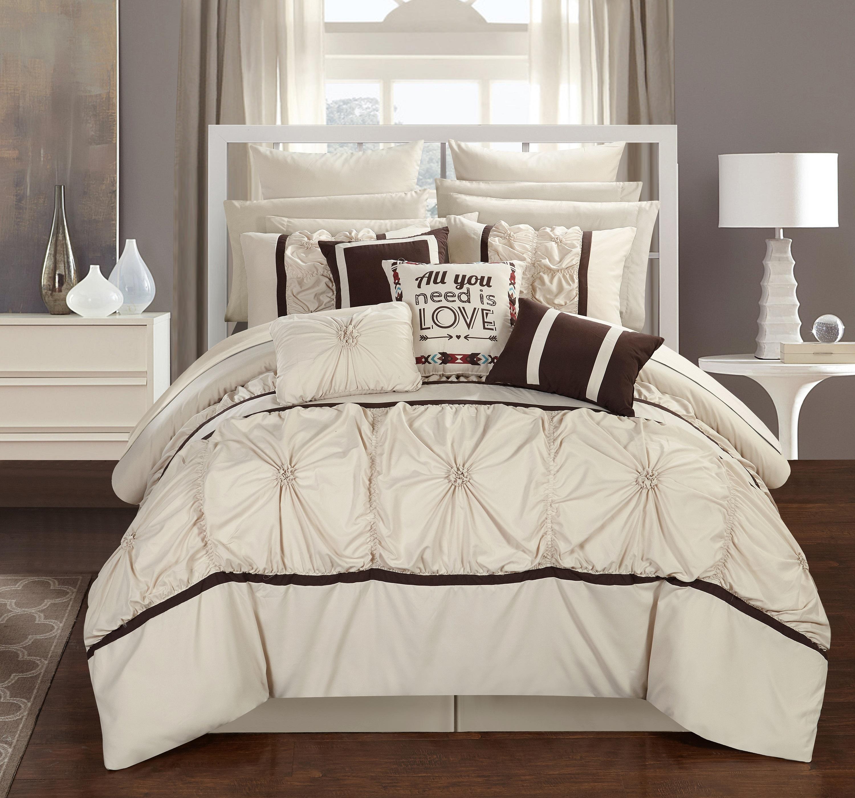 Chic Home Legaspi 16 Piece Bed In A Bag Comforter Set