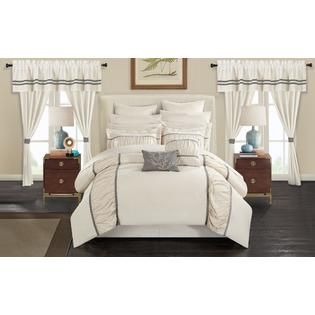 Chic Home Auburn 24 Piece Bed In a Bag Comforter Set