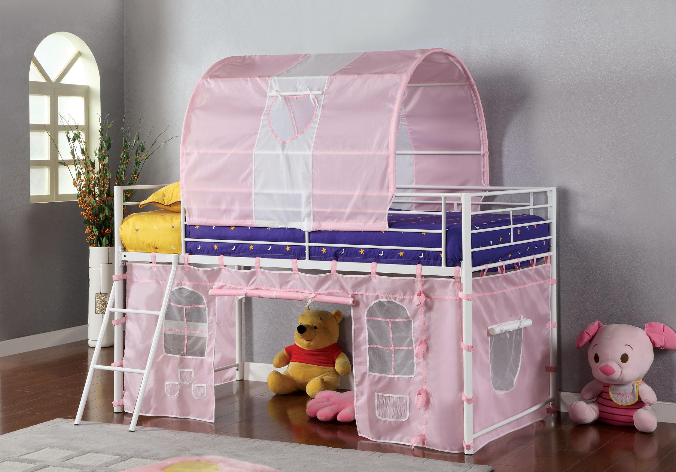Furniture of America Kalli Tent Loft Bed