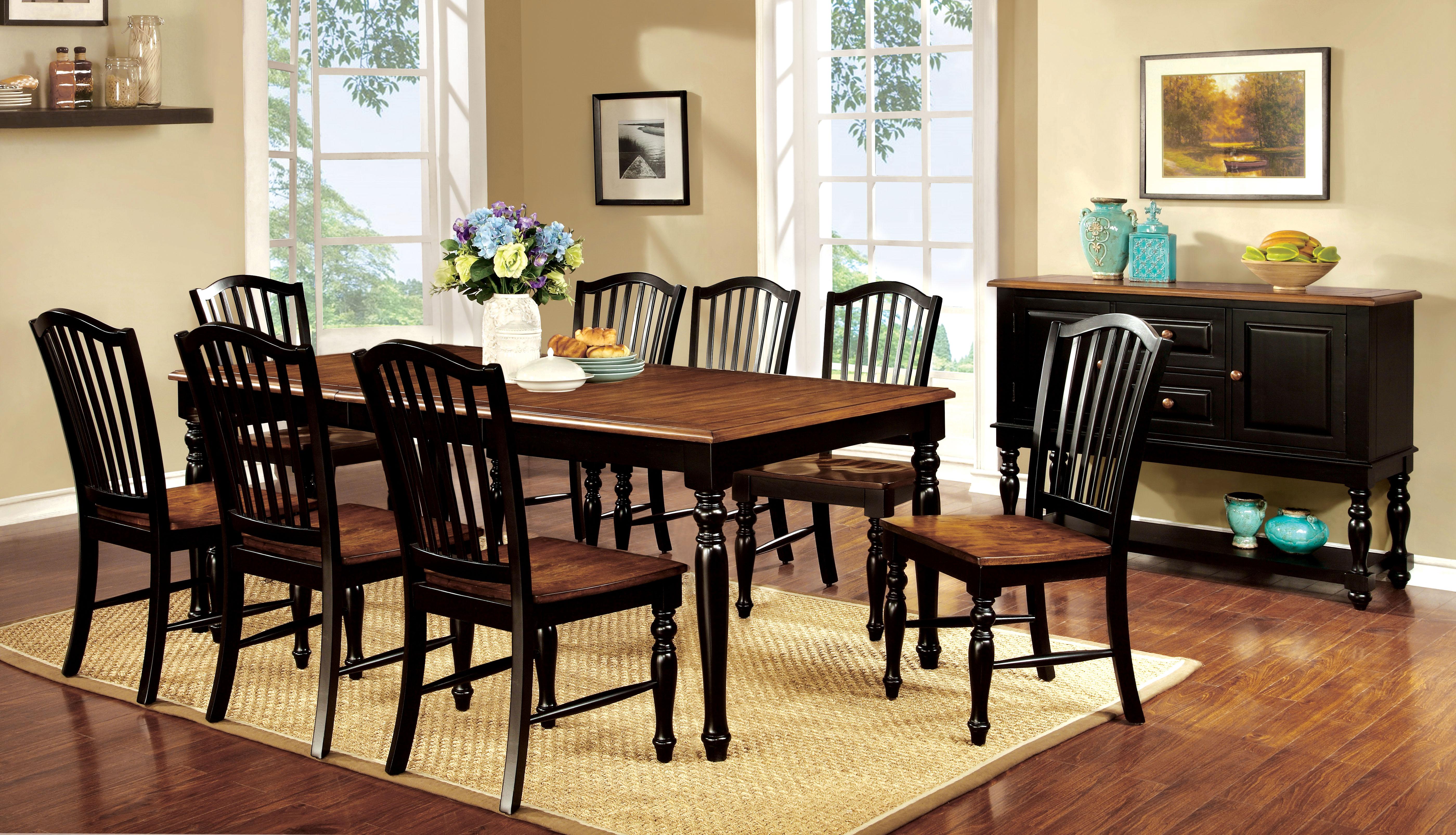 inspiring 9pc dining room set
