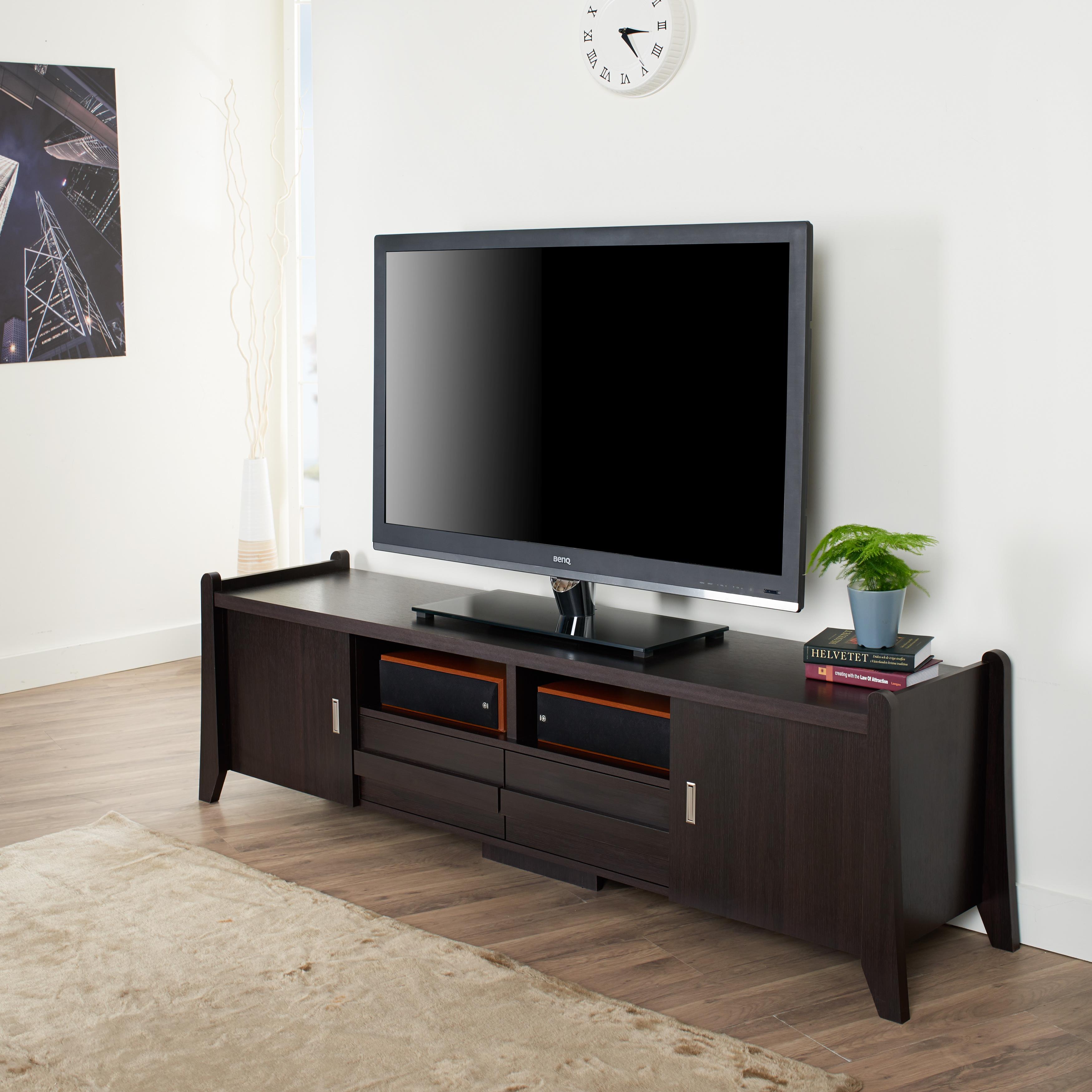 Furniture Of America Tanya Low Profile Entertainment Center