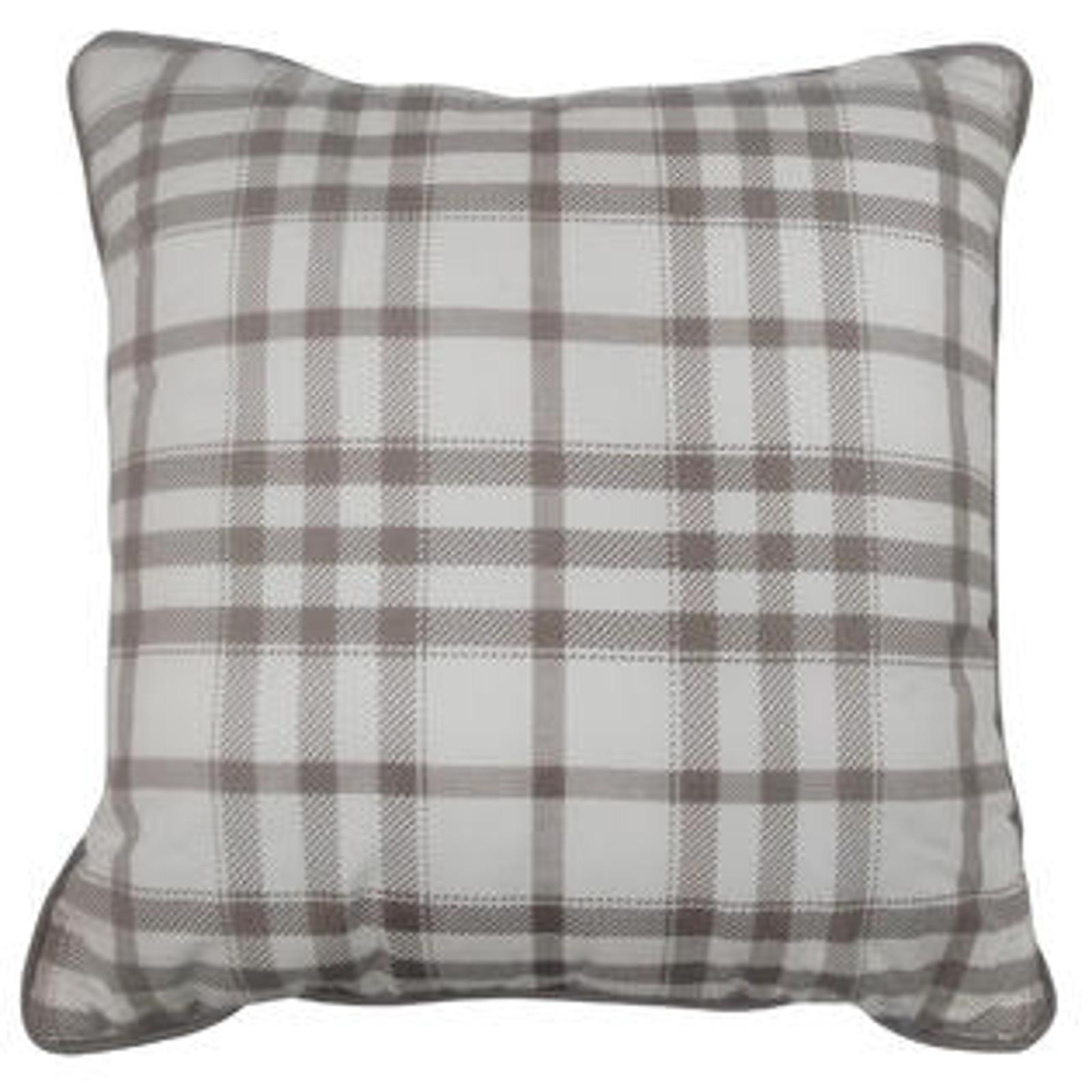 "18"" x 18"" Decorative Pillow - Plaid im test"