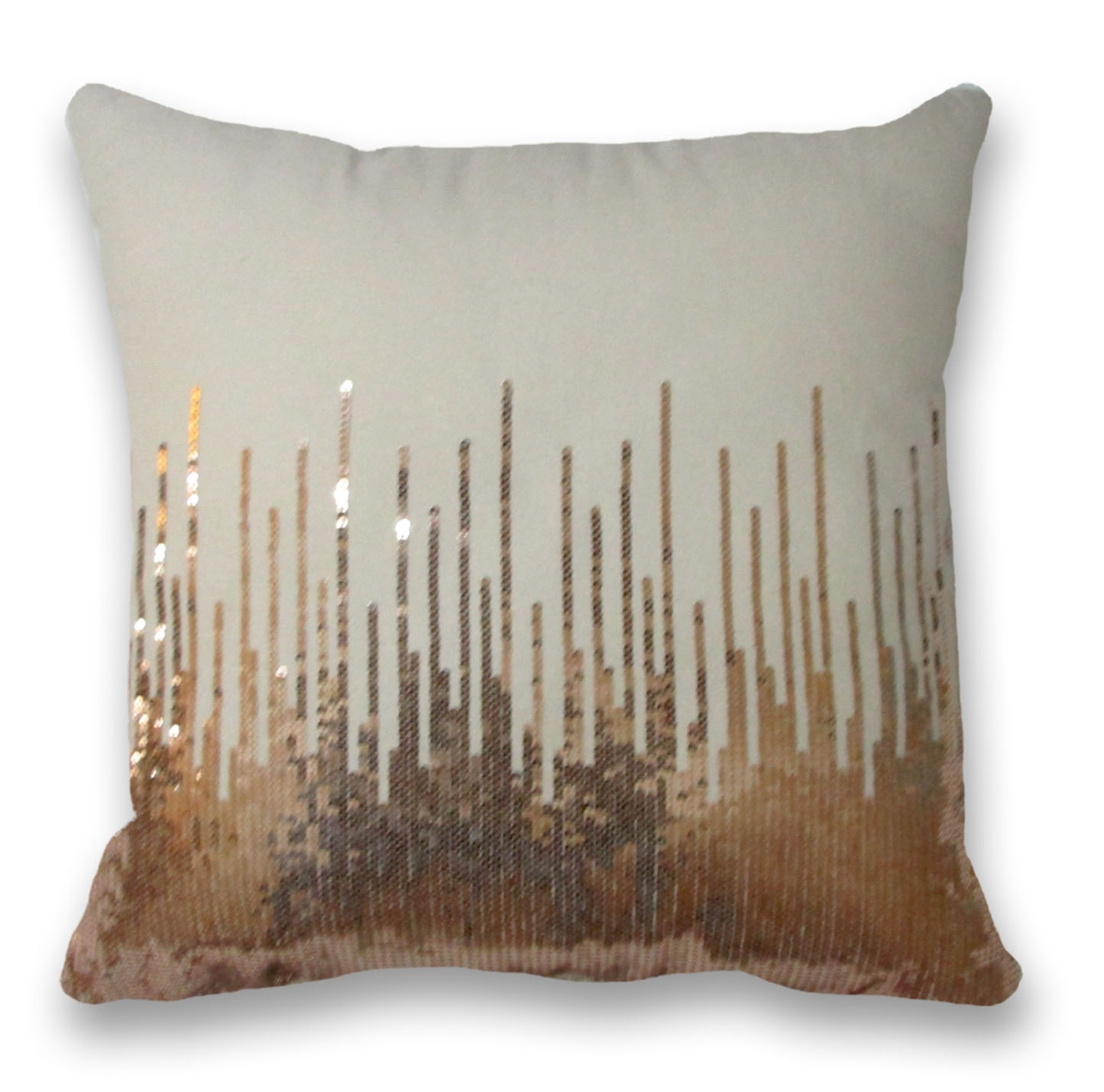 Decorative Pillows Kmart : HOLLYWOOD ROSE Decorative Pillow - Copper Beige Shop Your Way: Online Shopping & Earn Points ...
