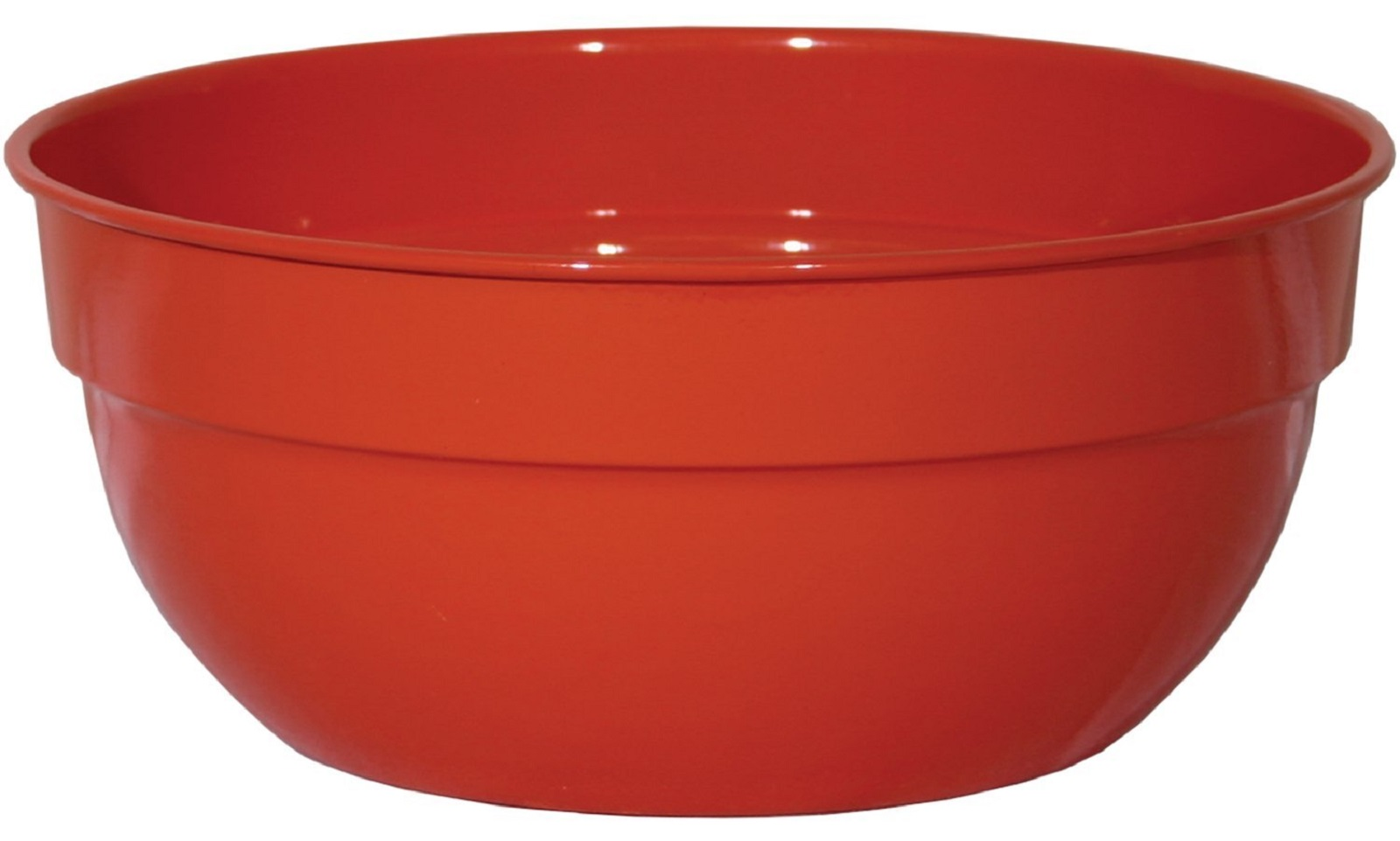 "Robert Allen Home & Garden Mini Bella Classic Bowl Planter 8"""" Tanger Red"