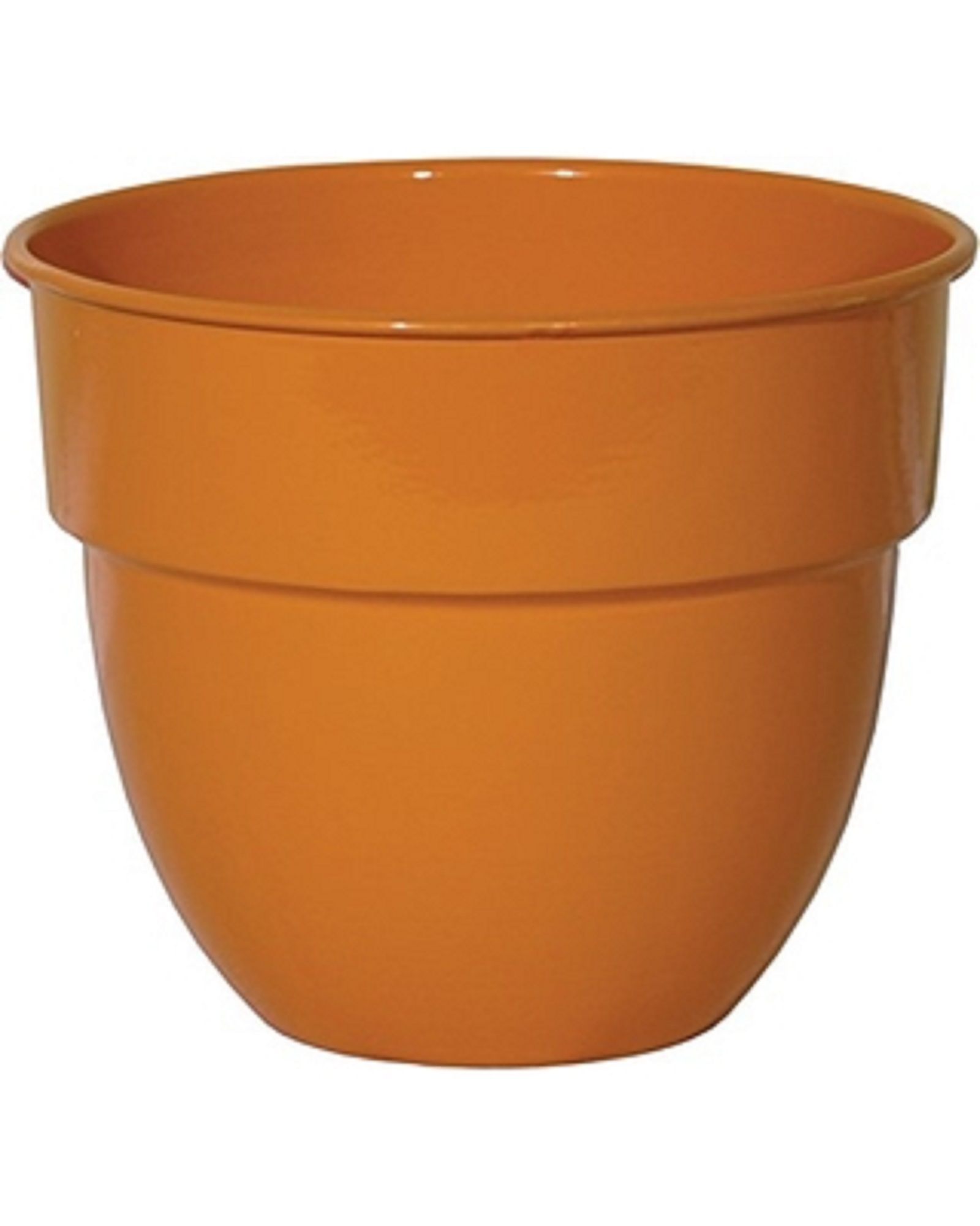 "Robert Allen Home & Garden Mini Bella Classic Bowl Planter 6"""" Mandarin"
