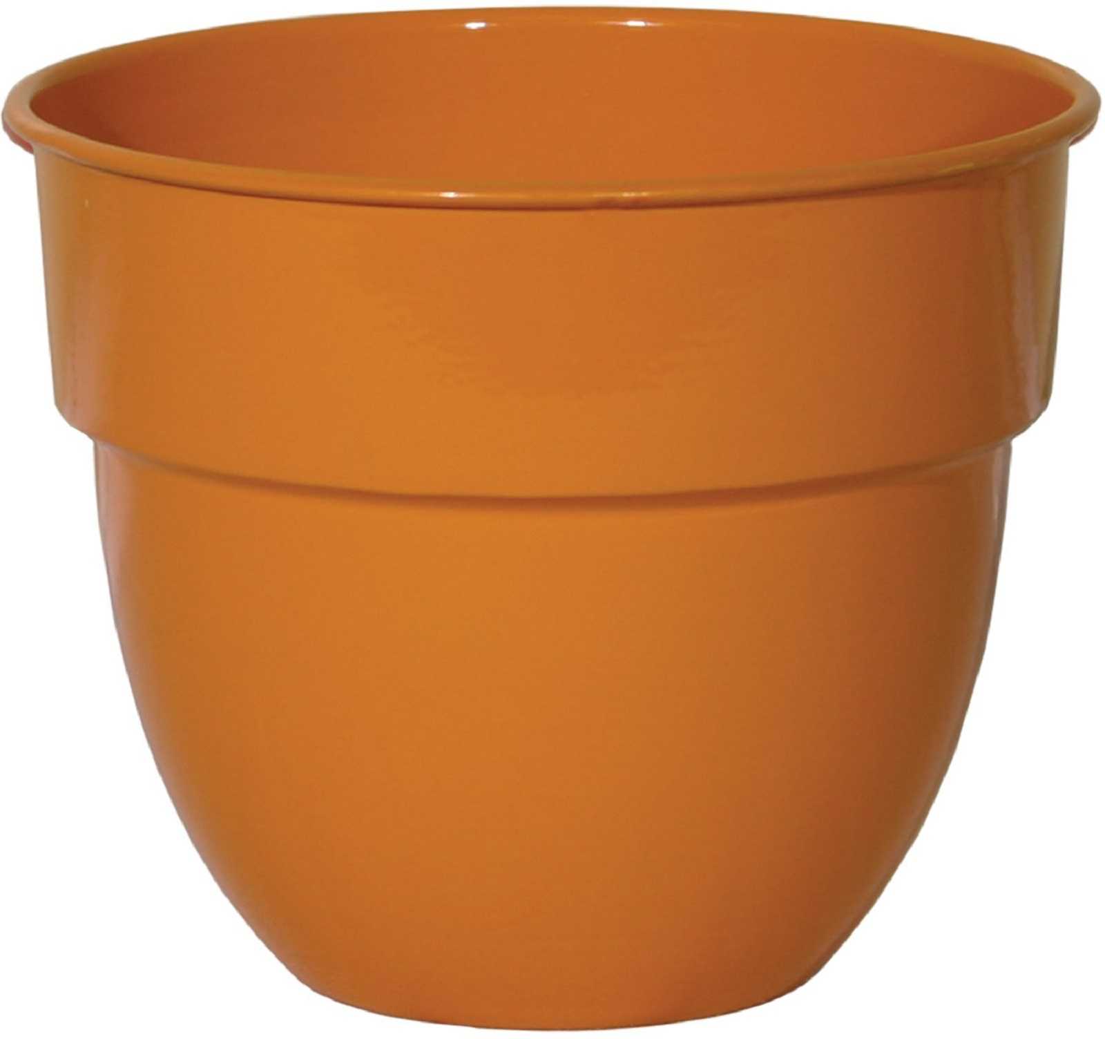 "Robert Allen Home & Garden Mini Bella Classic Bowl Planter 8"""" Orange"