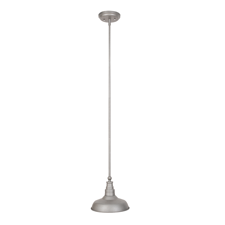 Design House Kimball 1-Light Galvanized Indoor Mini Pendant