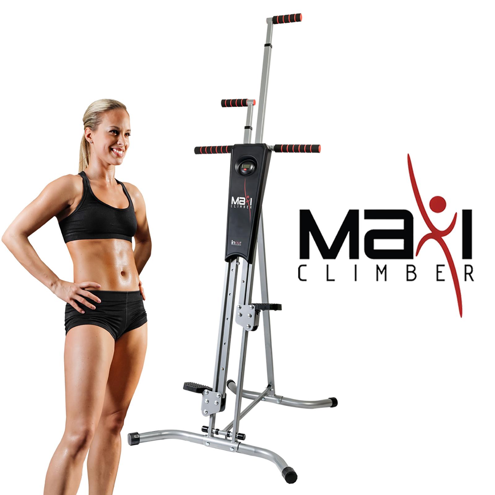 Easy Home Exercise Equipment: MaxiClimber Vertical Climber Folding Cardio Fat Burner