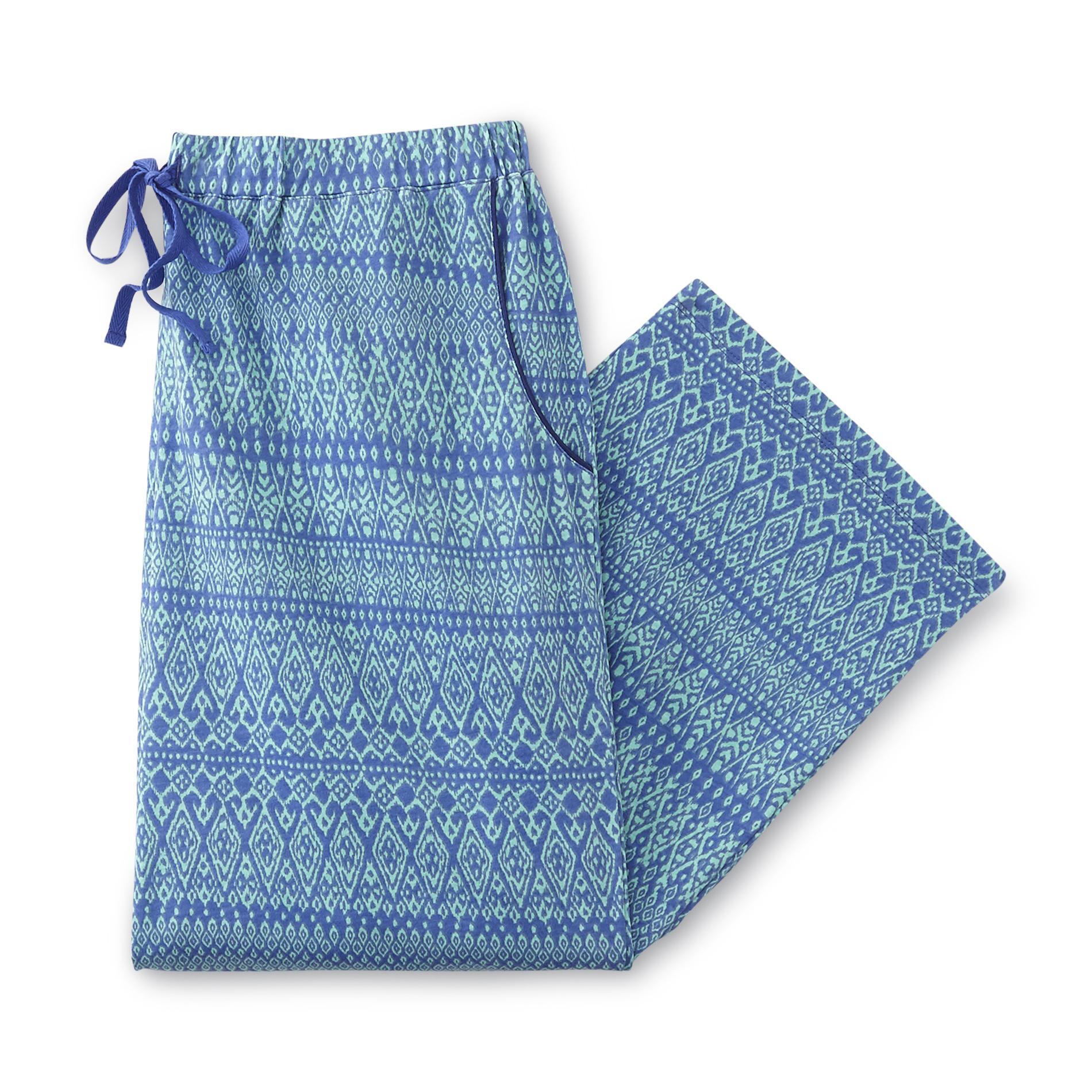 Covington Women's Pajama Pants - Ikat Print