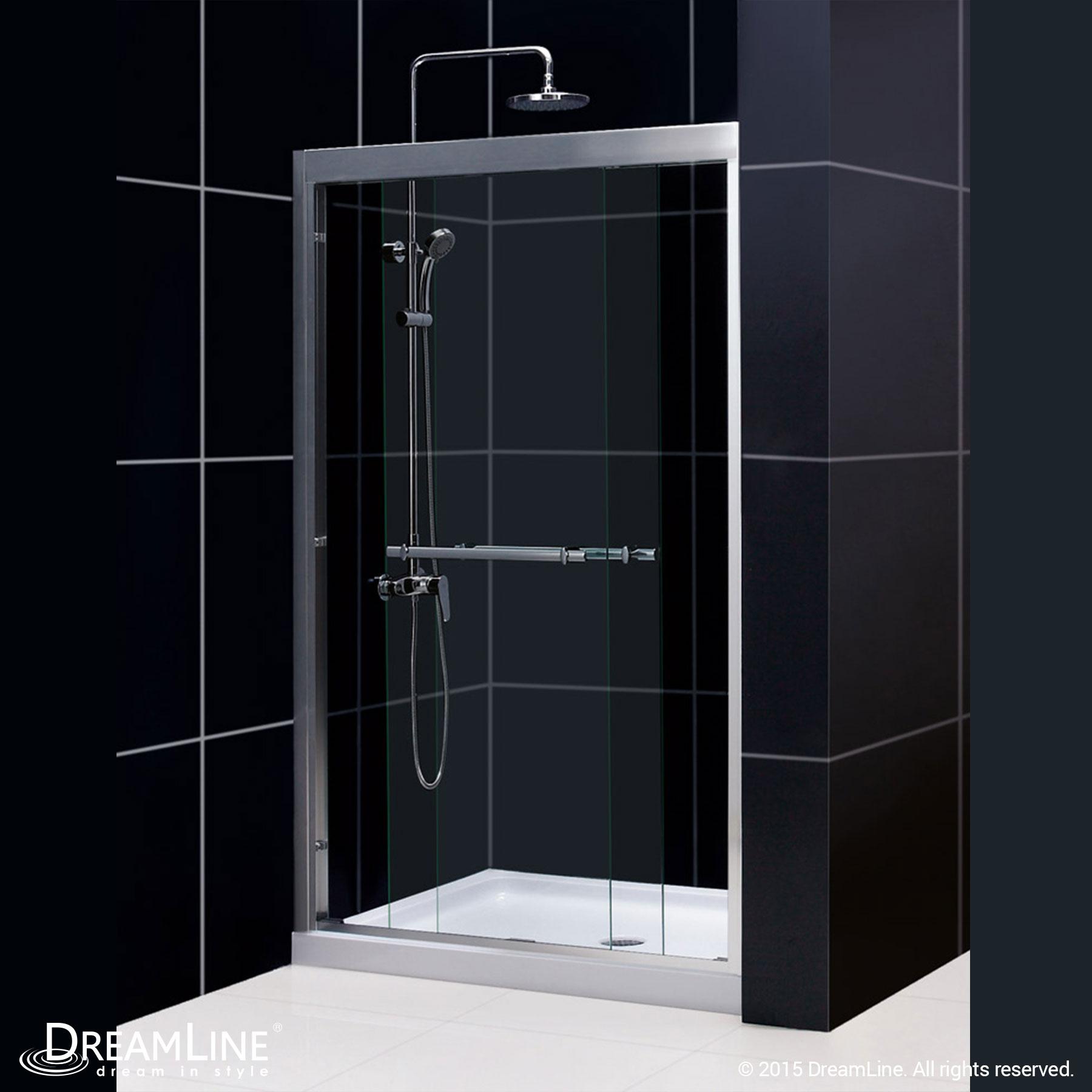 Dreamline Duet 44 To 48 Quot Frameless Bypass Sliding Shower