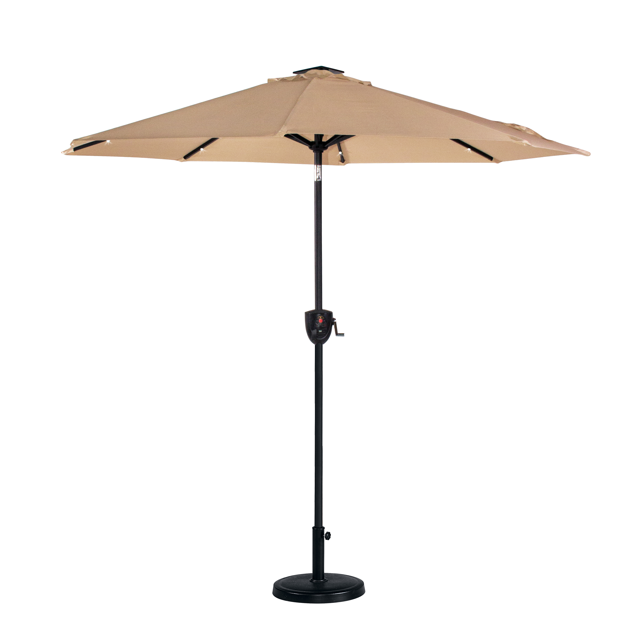 Garden Oasis 7' Music Umbrella With Bluetooth And Lights