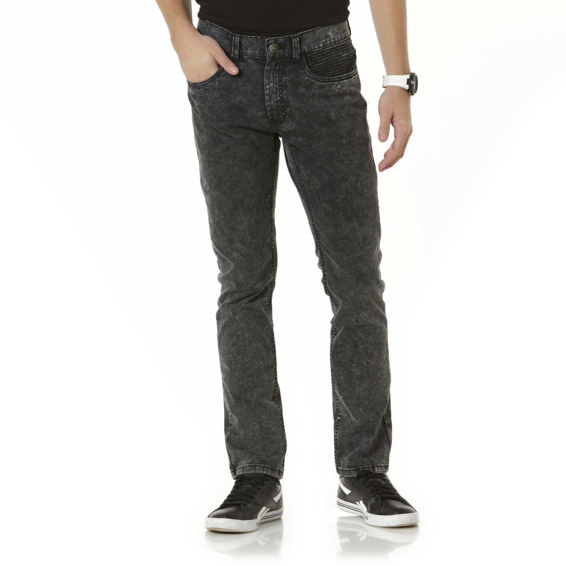 Men's Moto Skinny Jeans