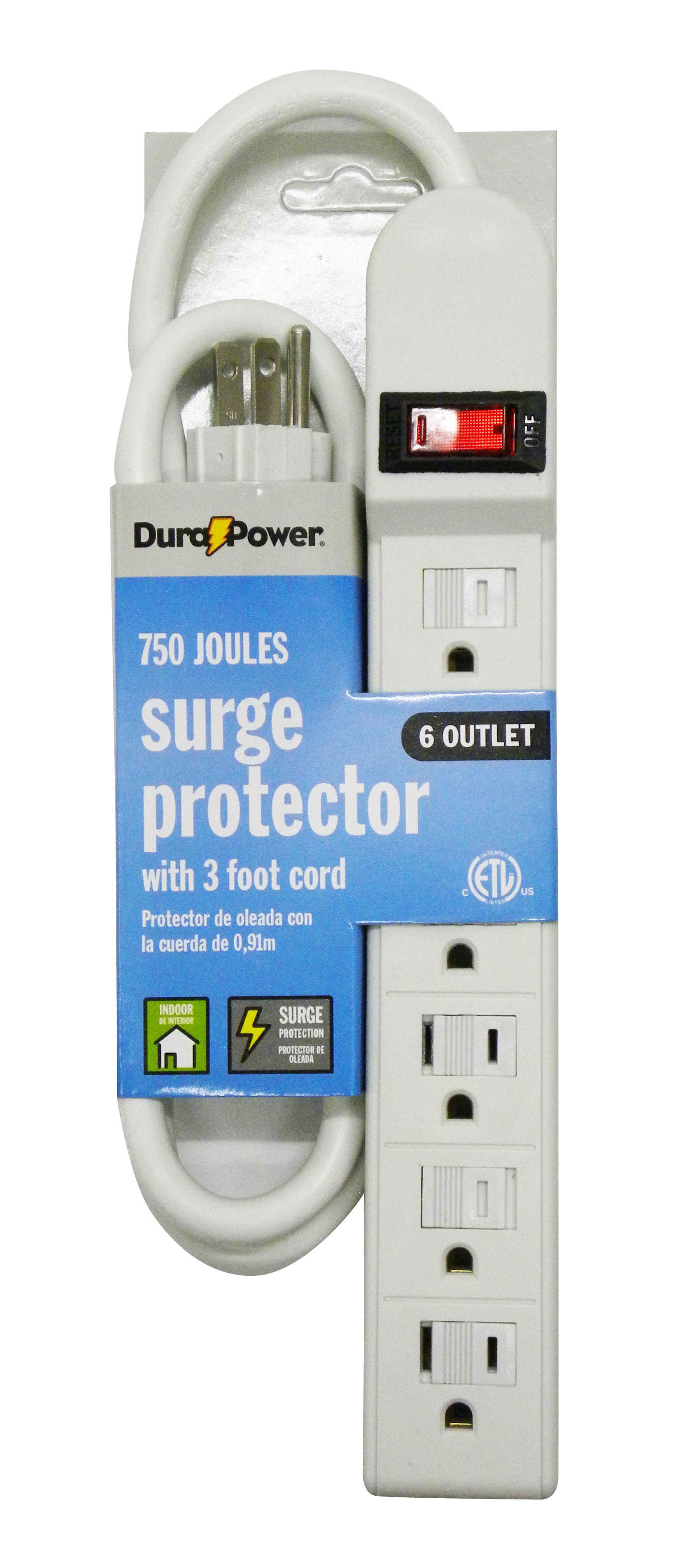 Dura Power Dura Power ATT037 6 Outlet Surge Protector im test