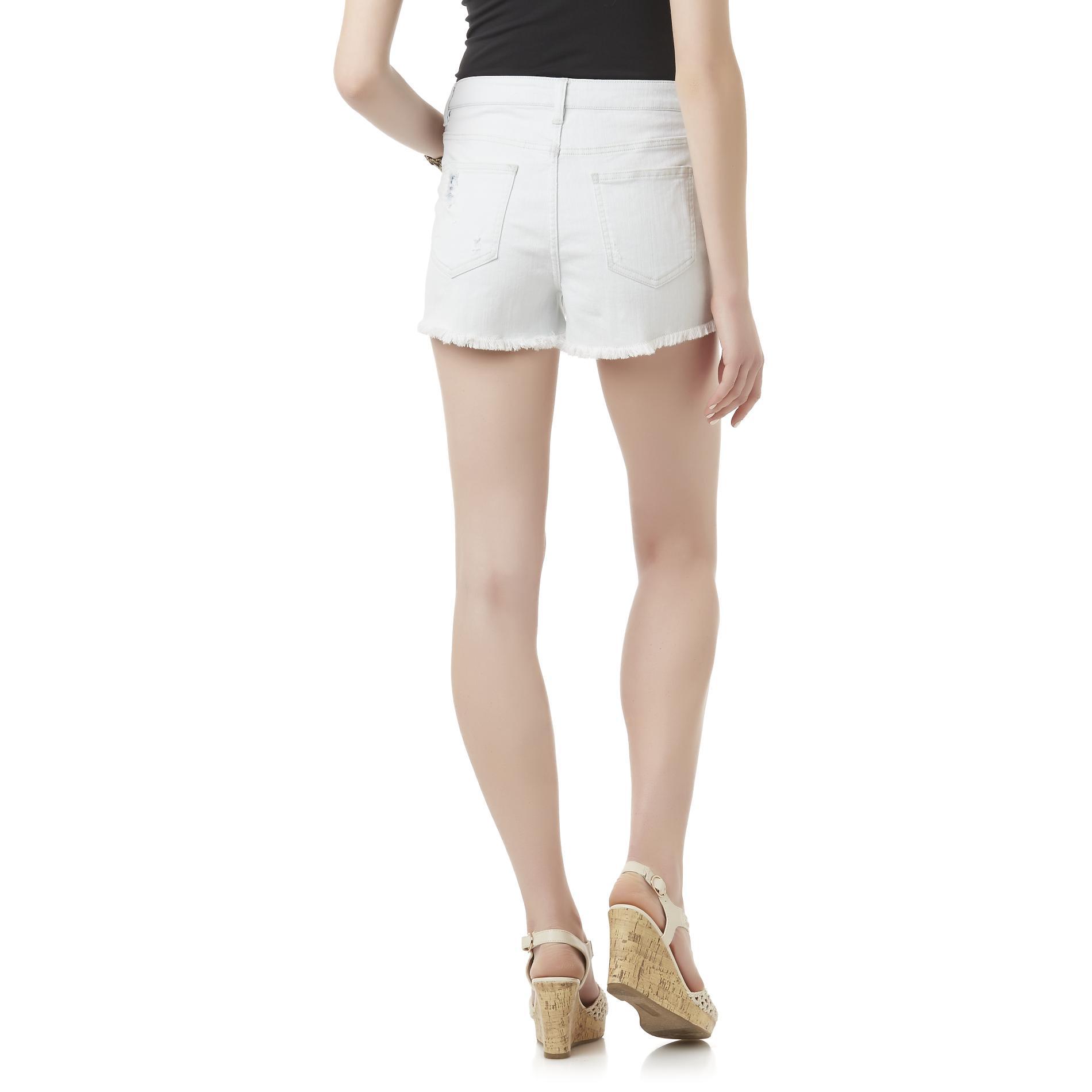 Bongo Junior's Distressed Jean Shorts