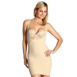 fae05f53a770a InstantFigure Women s shapewear underbust shapewear tank slip dress - made  in the USA