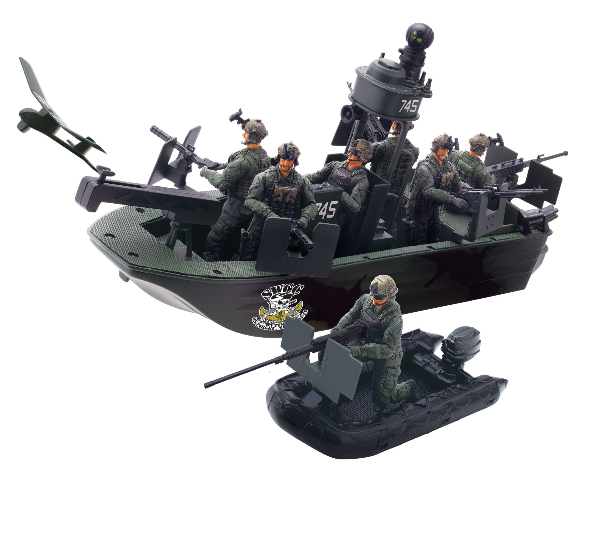 Military Toys Elite Force 1 18 : Blue box toys elite force air to land mission naval