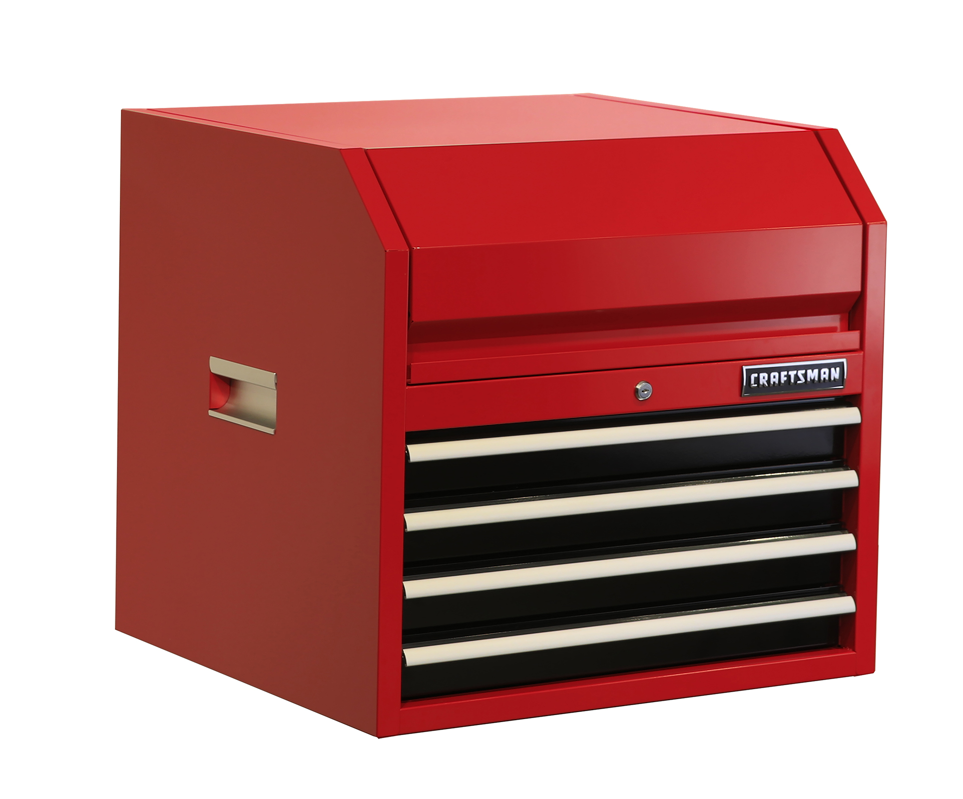 """""""""""""""Craftsman 27"""""""""""""""" 4 Drawer Top Chest – Red, Red/ Red"""""""""""" im test"""