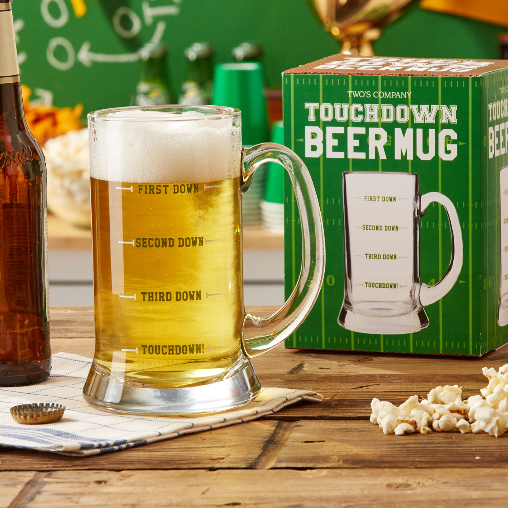 15oz. Touchdown Beer Mug Only.