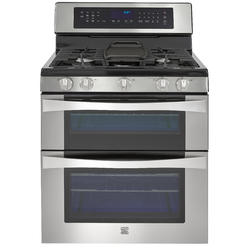 double oven gas range wconvection cooking. Interior Design Ideas. Home Design Ideas