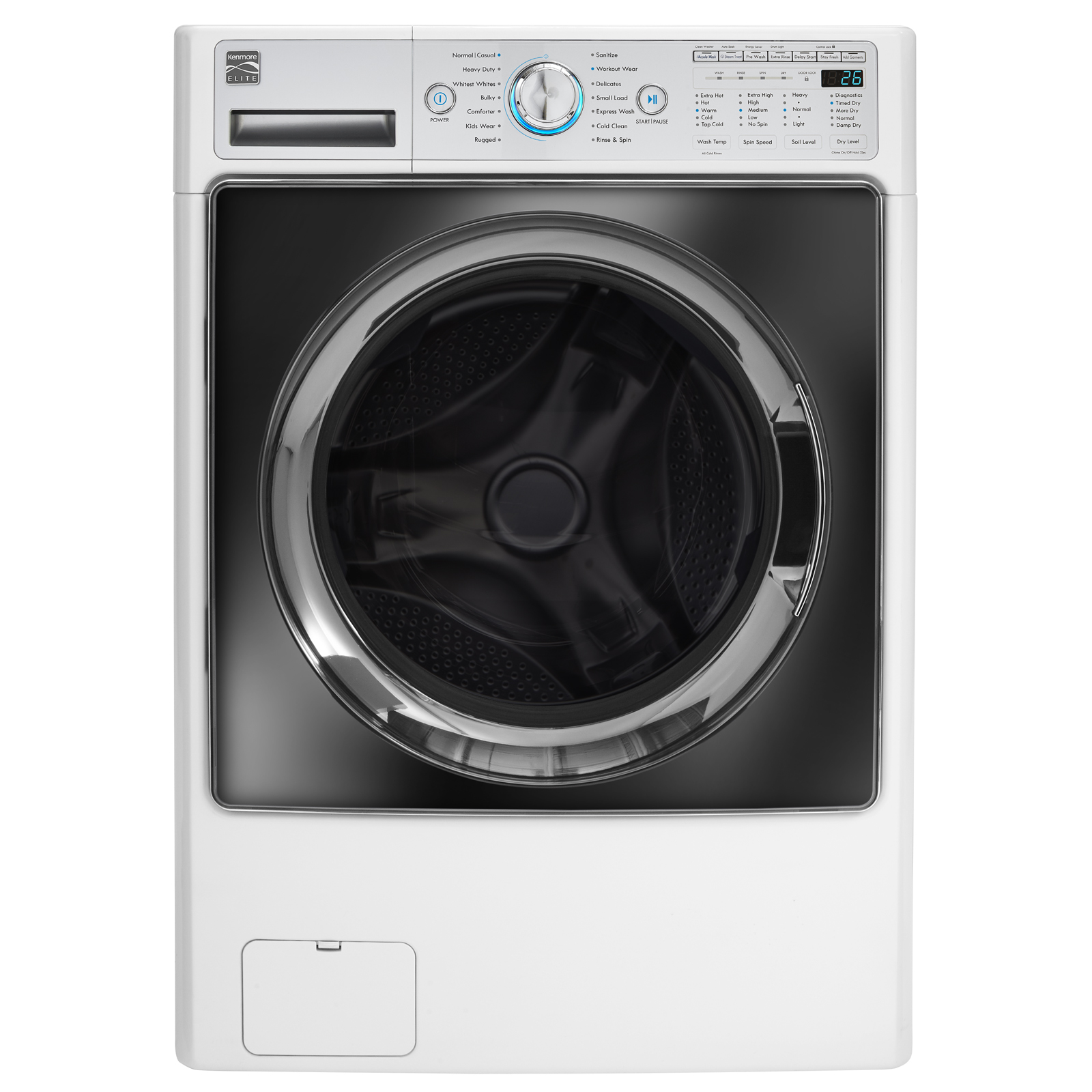 Kenmore Elite 41002 4 5 Cu Ft Front Load Combo Washer