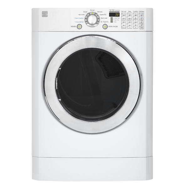 Kenmore 81392  7.3 cu. ft. Front-Load Flip Control Electric Dryer - White