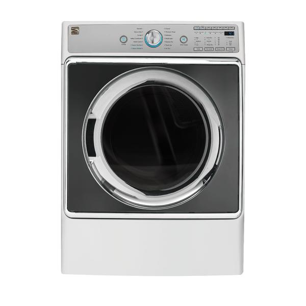 Kenmore Elite 91962   9.0 cu. ft. Front Control Gas Dryer w/ Accela Steam - White