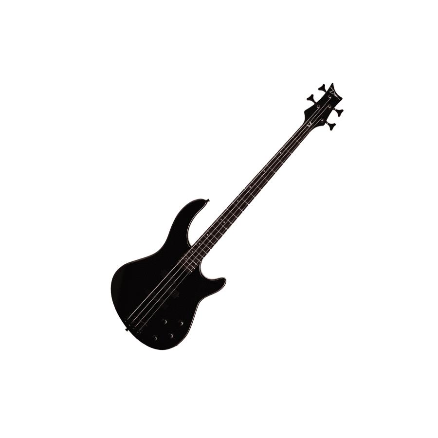 Dean Edge 10 PJ Electric Bass Guitar w/Active EQ - Classic Black 018V002781710000