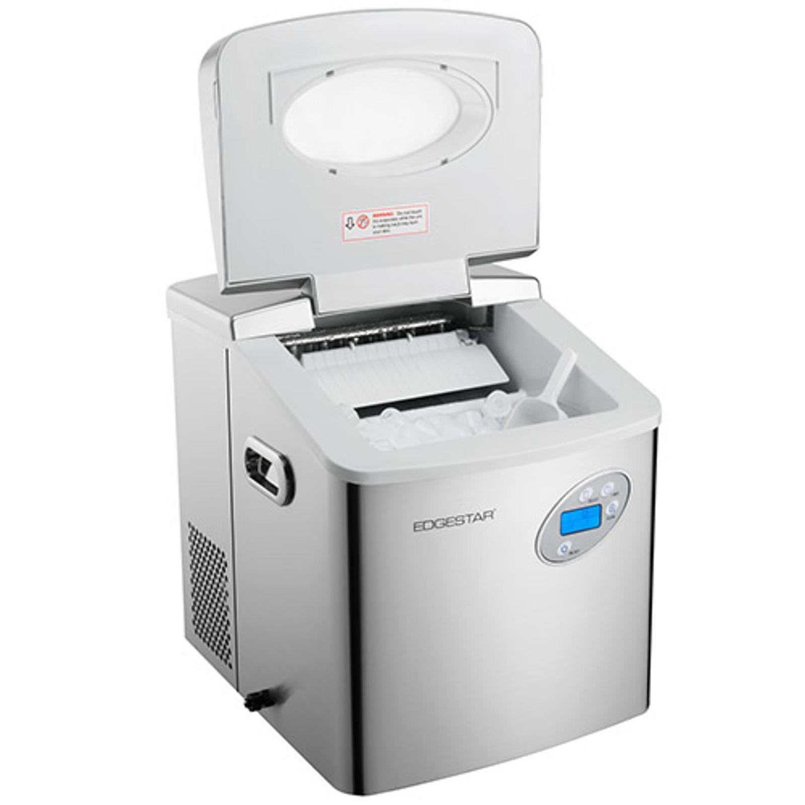 EdgeStar EdgeStar IP250SS IP210BL Portable Ice Maker W/Innovative Water  Reuse Design U2013 Black 2