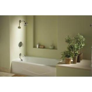 Kohler Villager Cast Iron 5 Alcove Bathtub White 2