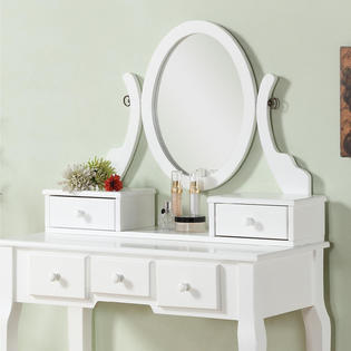 Roundhill Furniture Ashley Bedroom Vanity Set Sears Marketplace